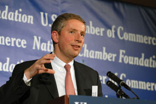 "Kleinfeld addressed the National Chamber Foundation at the U.S. Chamber of Commerce April 18th on ""Investing and Competing in the U.S.--Perspectives of a Global Company"